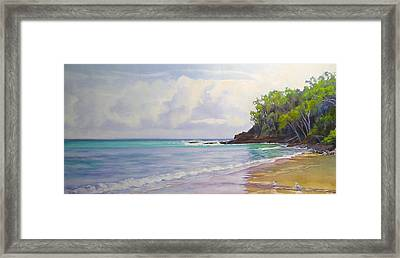 Main Beach Noosa Heads Queensland Australia Framed Print