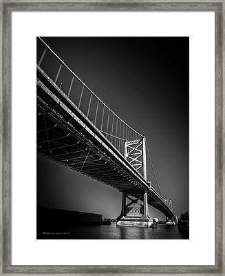 Main Span Framed Print by Marvin Spates