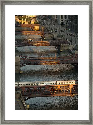 Main Stem Chicago River Framed Print