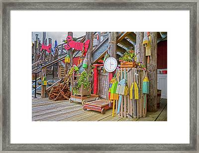 Maine Attraction Framed Print by Betsy Knapp