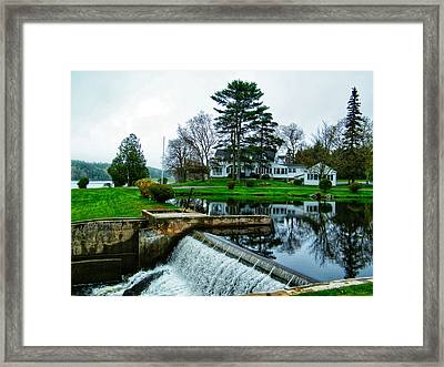 Maine House  Framed Print