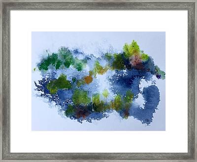 Maine Idea Framed Print by Gayle Hurley