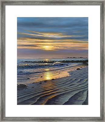 Maine Impact Framed Print by Bruce Dumas