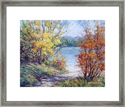 Maine October Framed Print by Vickie Fears