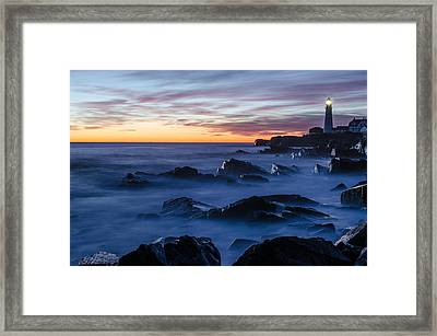 Maine Framed Print by Paul Noble