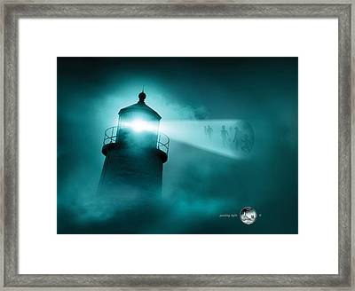 Maine State Quarterama - Art 23 Framed Print