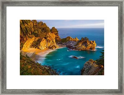 Mainland Tropics Framed Print