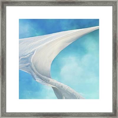 Mainsail  Framed Print
