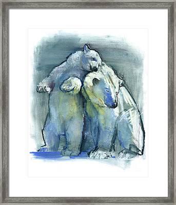 Mainstay Framed Print by Mark Adlington