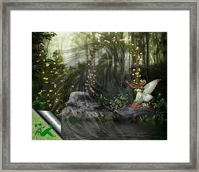 Maintain Strength Against All Odds Framed Print by Morning Dew