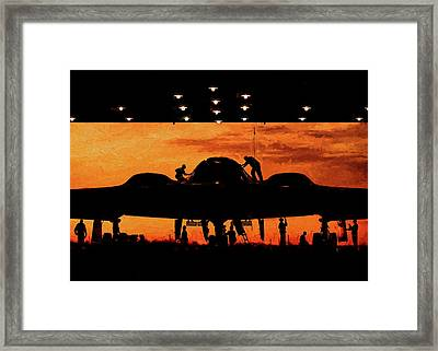 Maintainer  Framed Print by JC Findley