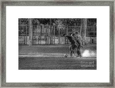 Maintaining Control Framed Print