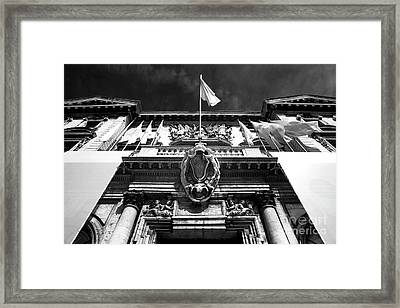 Mairie De Marseille Framed Print by John Rizzuto