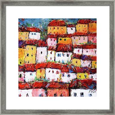 Maisons De Ville Framed Print