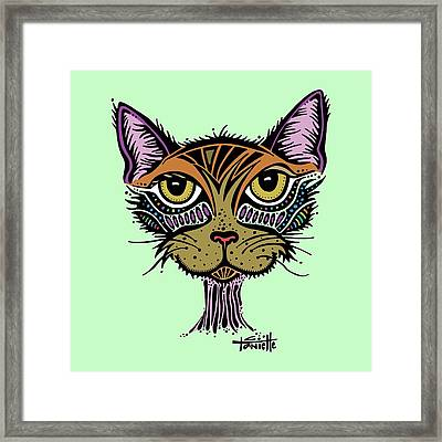 Maisy Framed Print by Tanielle Childers