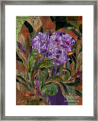 Majani Framed Print by Mindy Sommers