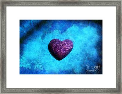 Majestic At Heart Framed Print by Krissy Katsimbras