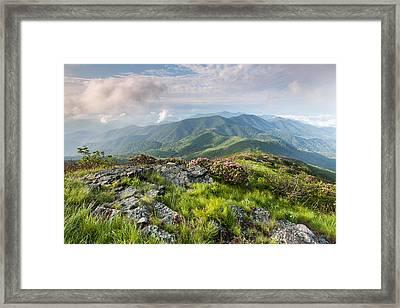 Majestic Blue Ridge Mountains Framed Print by Mark VanDyke