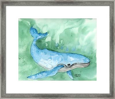 Framed Print featuring the painting Majestic Creature by Darice Machel McGuire