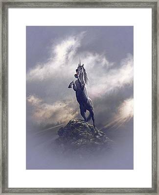 Majestic Dignity  Framed Print