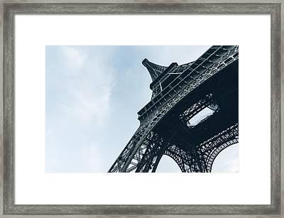 Majestic Eiffel Tower Framed Print by Marcus Karlsson Sall