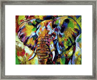 Majestic Elephant Cl Framed Print