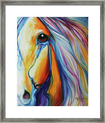 Majestic Equine 2016 Framed Print by Marcia Baldwin