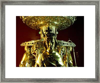 Majestic Figurine Framed Print by Edan Chapman
