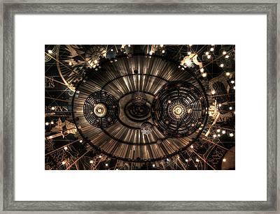 Majestic Heavens Framed Print by Shelley Neff