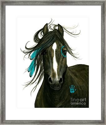 Majestic Horse 163 Framed Print