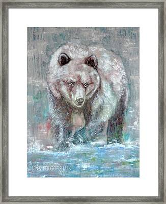Majestic Hunt Framed Print