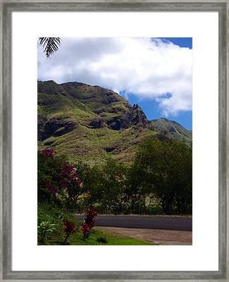 Majestic Kaua'i Framed Print