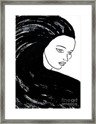 Majestic Lady J0715a Framed Print