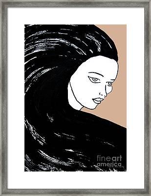 Majestic Lady J0715b Framed Print
