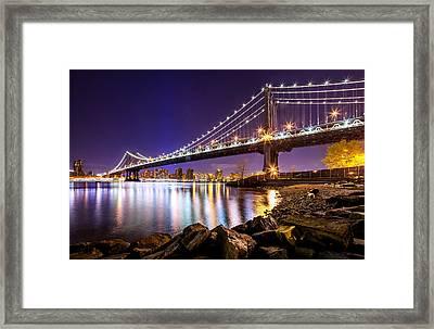 Majestic Manhattan Framed Print