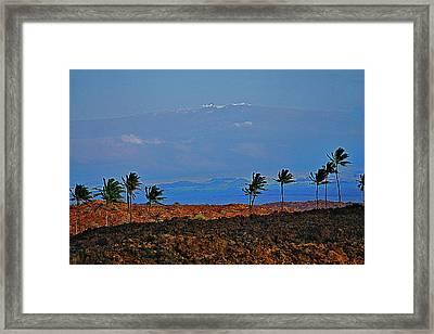 Majestic Mauna Kea Framed Print