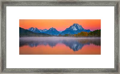 Majestic Morning Views Framed Print