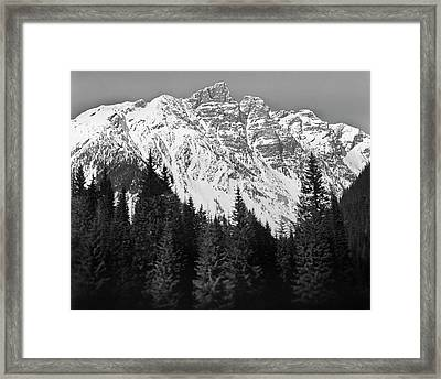 Majestic Mountains, British Columbia, Canada Framed Print