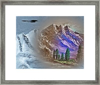 Majestic Mystic Mountains Number Five Framed Print