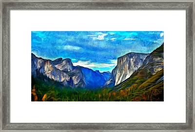 Majestic - Pa Framed Print by Leonardo Digenio