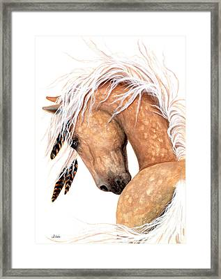 Majestic Palomino #139 Framed Print by AmyLyn Bihrle