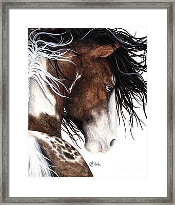 Majestic Pinto Horse 140 Framed Print