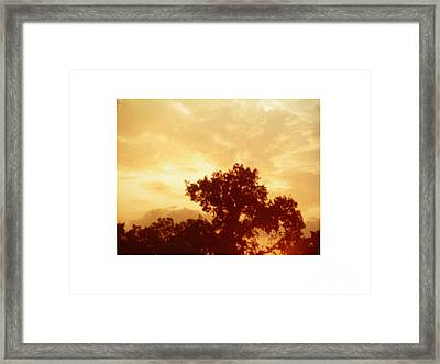 Majestic Sky Framed Print by Hal Newhouser