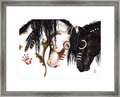 Majestic Spirit Horses Framed Print