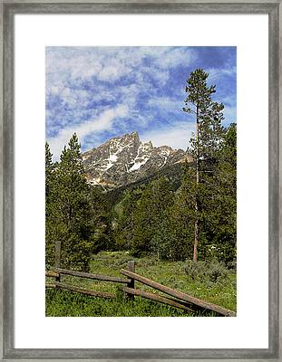 Framed Print featuring the photograph Majestic Splendor by Dan Wells