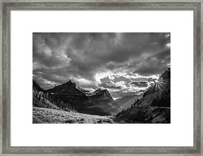Majestic Sunset Framed Print by Adam Mateo Fierro