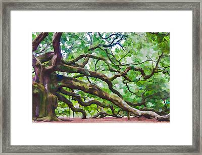 Majesty - The Angel Oak Framed Print
