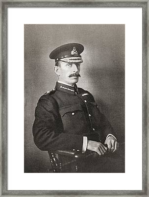 Major-general R A P Clements, Commander Framed Print by Vintage Design Pics