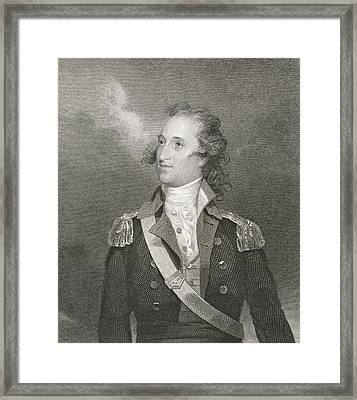 Major General Thomas Pinckney Framed Print by John Trumbull