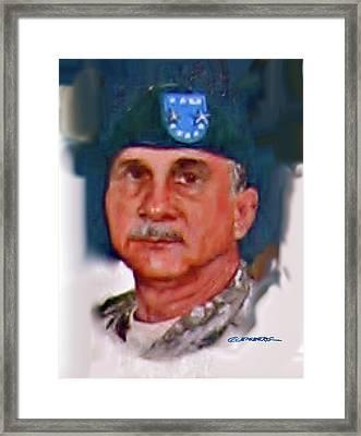 Major General William H. Wade II Framed Print